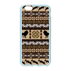 Lion African Vector Pattern Apple Seamless iPhone 6/6S Case (Color)