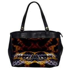 Textures Snake Skin Patterns Office Handbags