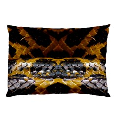 Textures Snake Skin Patterns Pillow Case (Two Sides)