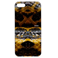 Textures Snake Skin Patterns Apple iPhone 5 Hardshell Case with Stand