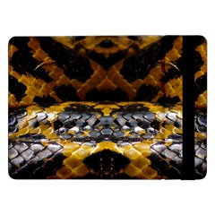 Textures Snake Skin Patterns Samsung Galaxy Tab Pro 12.2  Flip Case