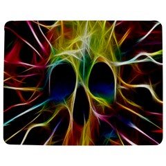 Skulls Multicolor Fractalius Colors Colorful Jigsaw Puzzle Photo Stand (Rectangular)