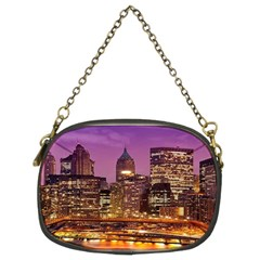 City Night Chain Purses (Two Sides)
