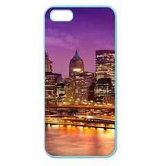 City Night Apple Seamless iPhone 5 Case (Color)