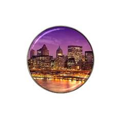 City Night Hat Clip Ball Marker