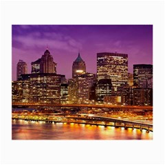 City Night Small Glasses Cloth (2-Side)