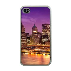 City Night Apple iPhone 4 Case (Clear)