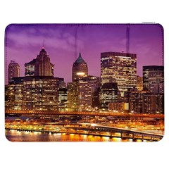 City Night Samsung Galaxy Tab 7  P1000 Flip Case