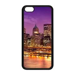 City Night Apple iPhone 5C Seamless Case (Black)