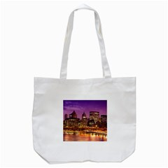 City Night Tote Bag (White)