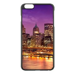 City Night Apple iPhone 6 Plus/6S Plus Black Enamel Case