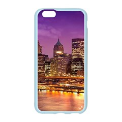 City Night Apple Seamless iPhone 6/6S Case (Color)