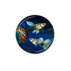 Marine Fishes Hat Clip Ball Marker