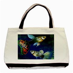Marine Fishes Basic Tote Bag