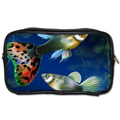 Marine Fishes Toiletries Bags 2-Side