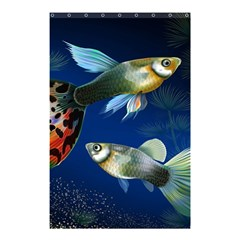 Marine Fishes Shower Curtain 48  x 72  (Small)