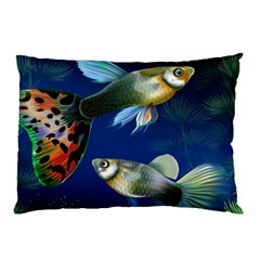 Marine Fishes Pillow Case (Two Sides)