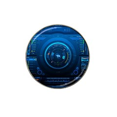 Technology Dashboard Hat Clip Ball Marker