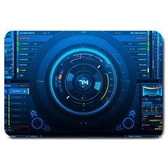 Technology Dashboard Large Doormat