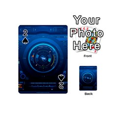 Technology Dashboard Playing Cards 54 (Mini)