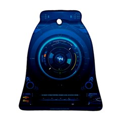 Technology Dashboard Bell Ornament (Two Sides)