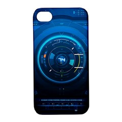 Technology Dashboard Apple iPhone 4/4S Hardshell Case with Stand