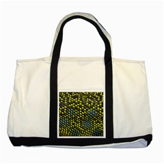 Lizard Animal Skin Two Tone Tote Bag