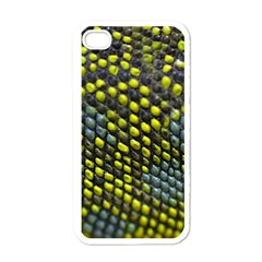 Lizard Animal Skin Apple iPhone 4 Case (White)