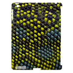 Lizard Animal Skin Apple iPad 3/4 Hardshell Case (Compatible with Smart Cover)