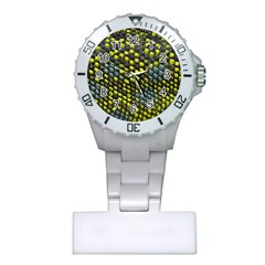 Lizard Animal Skin Plastic Nurses Watch