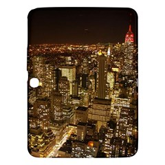 New York City At Night Future City Night Samsung Galaxy Tab 3 (10.1 ) P5200 Hardshell Case