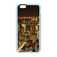 New York City At Night Future City Night Apple Seamless iPhone 6/6S Case (Color)