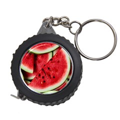 Fresh Watermelon Slices Texture Measuring Tapes
