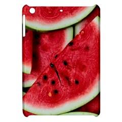 Fresh Watermelon Slices Texture Apple iPad Mini Hardshell Case