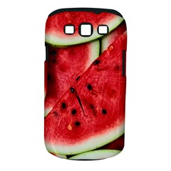 Fresh Watermelon Slices Texture Samsung Galaxy S III Classic Hardshell Case (PC+Silicone)