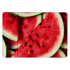 Fresh Watermelon Slices Texture Samsung Galaxy Tab 8.9  P7300 Flip Case