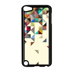 Retro Pattern Of Geometric Shapes Apple iPod Touch 5 Case (Black)