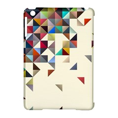 Retro Pattern Of Geometric Shapes Apple iPad Mini Hardshell Case (Compatible with Smart Cover)