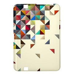 Retro Pattern Of Geometric Shapes Kindle Fire HD 8.9