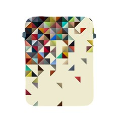 Retro Pattern Of Geometric Shapes Apple iPad 2/3/4 Protective Soft Cases
