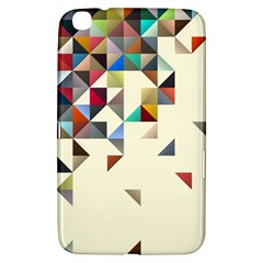 Retro Pattern Of Geometric Shapes Samsung Galaxy Tab 3 (8 ) T3100 Hardshell Case
