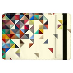 Retro Pattern Of Geometric Shapes iPad Air Flip