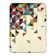 Retro Pattern Of Geometric Shapes Samsung Galaxy Tab 4 (10.1 ) Hardshell Case