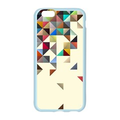 Retro Pattern Of Geometric Shapes Apple Seamless iPhone 6/6S Case (Color)
