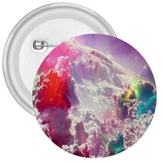 Clouds Multicolor Fantasy Art Skies 3  Buttons