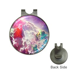 Clouds Multicolor Fantasy Art Skies Hat Clips with Golf Markers