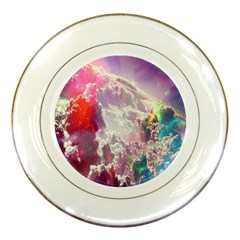 Clouds Multicolor Fantasy Art Skies Porcelain Plates