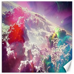 Clouds Multicolor Fantasy Art Skies Canvas 12  x 12