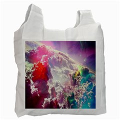 Clouds Multicolor Fantasy Art Skies Recycle Bag (Two Side)