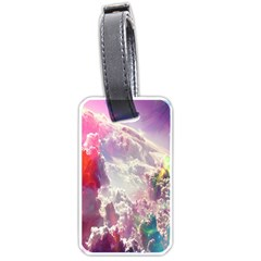Clouds Multicolor Fantasy Art Skies Luggage Tags (One Side)